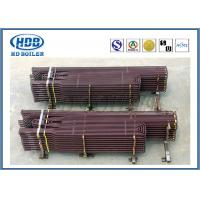 Anti Corrosion Industrial Boiler Superheater Tube , Fuel Gas Superheater High Speed Heating