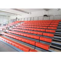 Multi Purpose Facilities Telescopic Seating Systems Polymer Bench For Gyms