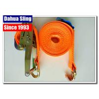 """10000 Lbs 2""""  Mini Ratchet Tie Down Straps With Zinc Plated Welded Wire Hook"""