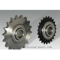 China Harvester Quenching Chain Sprocket Wheel With Blackened Technique Hole wholesale