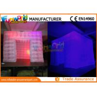 Buy cheap Custom Inflatable Cube Tent / Led Inflatable Air Tent Trade Show Room from wholesalers