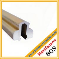 Wholesale C38500 CuZn39Pb3  CuZn39Pb2 CW612N C37700 Solid extruded brass profiles from china suppliers