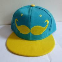 Custom Beard embroidery logo snapback cap hat,Korea hip hop hats with solid color,small order is accept