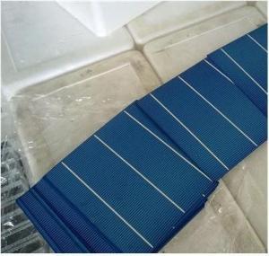 3.6w-4.3w polycrystalline solar cells 6x6 with efficiency 15.00%-17.80%