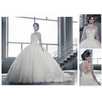 Wholesale Lovely Design Free Shipping High Quality Elgent Sweetheart Ball Gown Style Cheap Bridal Wedding Dress from china suppliers