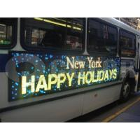 Buy cheap Outdoor LED Bus Display for Advertising from wholesalers