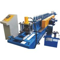 0.7~1.2mm Thickness Roller Shutter Door Roll Forming MachineWith Perforation System