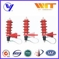 Wholesale Silicone / Rubber / Polymer Surge Arrester With KEMA Report For Power Transmission from china suppliers