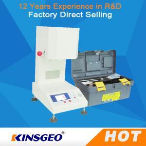 MFR Melt Flow Index Machine , Electronic Melt Flow Index Tester KJ-3092B