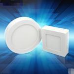 China 6W surface mounted round led panel light CE Rohs light led downlight wholesale