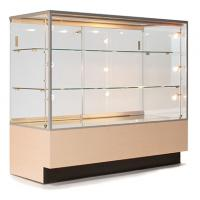 Custom Portable Jewelry Showcases , Jewelry Store Display Cases For Necklace
