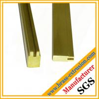 Wholesale OEM design lock key cylinder material brass extrusion profiles sections from china suppliers