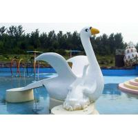 Wholesale Customized Cygnet Slide Game For Kids, Fiberglass Small Water Pool Slides from china suppliers