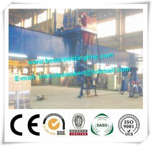 Shipbuilding Steel Butt Longitudinal Seam Welding Machine 10 - 35mm Plate
