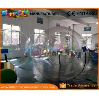 China Durable Transparent Water Zorb Walking Ball Inflatable Water Bubble Soccer wholesale