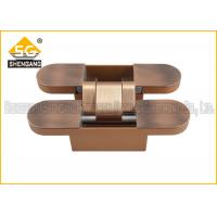 Wholesale Antique copper zinc alloy 2d concealed heavy duty door hinges from china suppliers