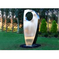 Wholesale Contemporary Metal Yard Art Stainless Steel Sculpture For Garden Decoration from china suppliers