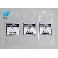 Plastic / PE / Poly Ziplock Plastic Bags , reclosable waterproof zip lock bags