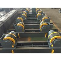 Wholesale 20t Pipe Turning Rolls Conventional Welding Rotator Drive By 1.1kw Motor Power from china suppliers
