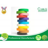 Wholesale Kraft Packaging Tape / Colored Masking Tape for Fun DIY Arts Paint from china suppliers