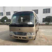 China Diesel Coaster Automobile 30 Seater Bus ISUZU Engine With Multiple Functions wholesale