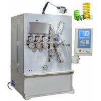 Vertical Grey White Painting CNC Spring Coiler Servo Drive Controlled High Efficiency