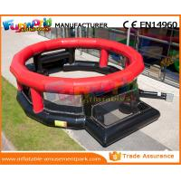 China Infaltable Football Playground 0.55 MM PVC Tarpaulin Blow Up Football Pitch wholesale