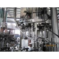 China 3 In 1 Small Capacity Automatic Beer Filling Machine , 300Bph - 500Bph Beer Bottling Machine wholesale