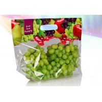 China Eco Friendly Stand Up Zipper Bags Zip Up Pouch Good Sealing Performance wholesale
