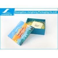 Sustainable Paper Cosmetic Gift Boxes Cmyk Printing Lid And Base Structure