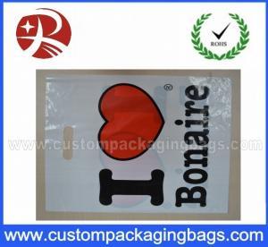 Heavy Duty Die Cut Handle Printing On Plastic Bags For Shopping HDB10