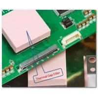 Quality pink LCD Heatsink Thermal Conductive Pad 1.5W/mK ,silicone rubber sheet TIF100-15-14S, 60 Shore 00 for sale