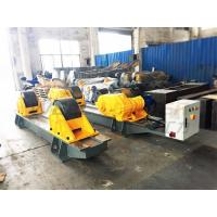 Wholesale 120Ton Pressure Vessel Tank Turning Rolls Conventional Bolt Adjustable Steel Rollers from china suppliers