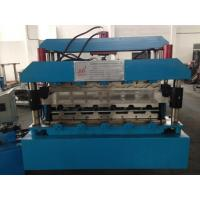 China 7.5KW Corrugated Sheet Making Machine , Metal Roll Forming Machines With Guide Pillar wholesale