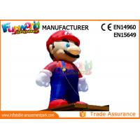 Wholesale PVC coated Nylon 3-8m inflatable mario model inflatable cartoon characters from china suppliers