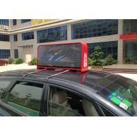 Outdoor Full Color Taxi LED Display PH5 with 12288 Pixels Each Side and W 32 x H 32 dots Module