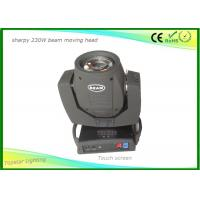 Touch Screen Sharpy Moving Head Disco Lights , Christmas Dj Moving Head Lights 16 Prism