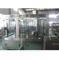 10000BPH Bottled Water Filling Machine With High Speed Large Gravity Flow Valve