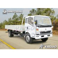 Quality HOWO 4x2 ENGINE POWER 116HP, 6CBM, LOAD 8TON LIGHT TRUCK for sale