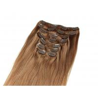 Wholesale Pre-bonded Brazilian Tangle Free Clip In human Hair Extensions Straight 24 inch human Hair from china suppliers