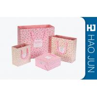 Wholesale Custom Boutique Shopping Bags 100% Recyclable Gift Paper Bags Pink Color from china suppliers