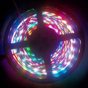 72leds/m Digital flexible led strip light with IC built-in LEDs
