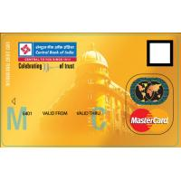 Professional MasterCard Plastic Smart Card with Cardholder Image