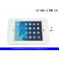 China White or Matt Black Ipad Kiosk Stand Case With Rugged Metal Holder wholesale