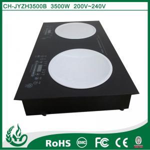 2600w+3500w Hot sell high efficiency built in induktionsherd