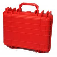 Colored Tool Carring Case Waterproof Plastic Box For Packing Components