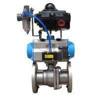 Wholesale Pneumatic thin type Ball Valve from china suppliers