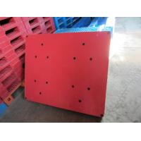 Wholesale Chinese hot selling red color double face europe standard plastic pallets from china suppliers