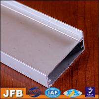 Quality Aluminium profile kitchen cabinet glass doors/handle profile aluminium frame for sale