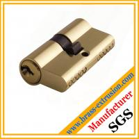 Wholesale C38500 CuZn39Pb3  CuZn39Pb2 CW612N CChinese manufacturer OEM service copper alloy brass lock cylinder extrusion profiles from china suppliers